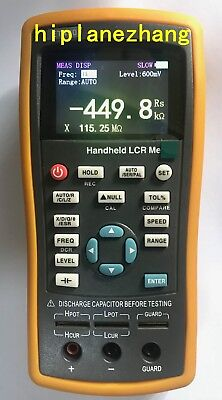 Handheld Lcr Meter Lcrzxdqesr 1001201k10k40k100khz 2.8tftlcd Usb