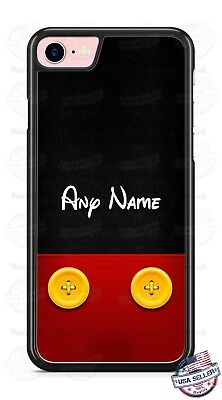 Disney Mickey Mouse Outfit Custom Phone Case Cover For iPhone Samsung LG etcNAME (Custom Disney Outfits)