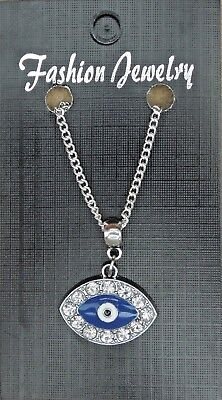 18 Or 24 Inch Fine Necklace   Turkish Evil Eye Pendant Amulet Ayn Al  As D Nazar