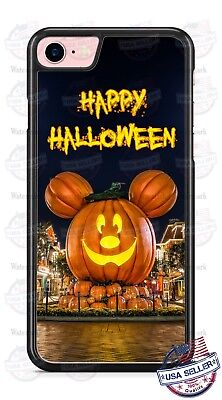Disney Mickey Mouse Halloween Pumpkin Phone Case Cover For iPhone Samsung LG - Disney For Halloween