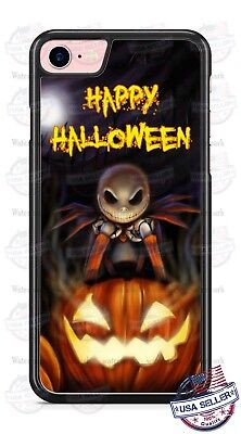 Happy Halloween Nightmare Before Christmas Phone Case for iPhone Samsung LG etc ()