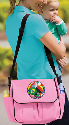 Soccer Diaper Bag BEST Shower Gifts for Daddy or Mommy New Dad