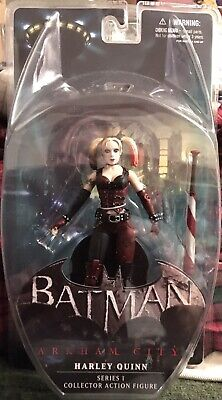 Batman Arkham City Series 1 Harley Quinn Action Figure for sale  Shipping to India
