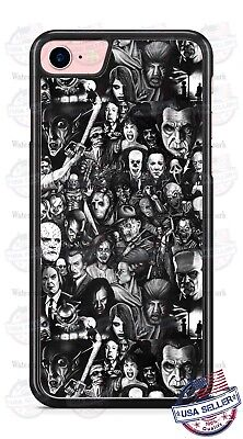 Halloween Scary Villains Living Dead Zombies Phone Case for iPhone Samsung etc