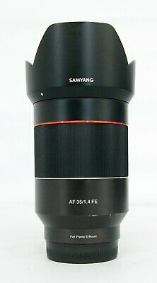 # Samyang Optics AF 35mm F1.4 FE Lens For Sony E-Mount Full Frame S/N 0991