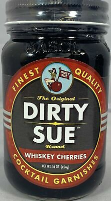 Dirty Sue Whiskey Cocktail Cherries (1 Pack)