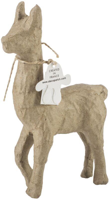 """Paper-Mache Figurine 4.5""""-Llama"""