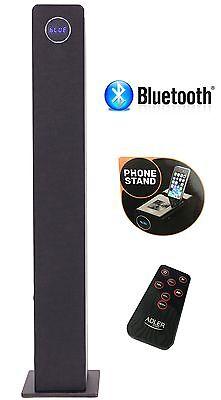 2.1 Sound Bluetooth Tower Lautsprecherturm Musikanlage  Kompaktanlage Schwarz