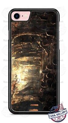Halloween Graveyard Scary Village Phone Case for iPhone Samsung Google LG etc