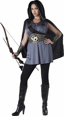 Adult Huntress Warrior Hunger Games Costume Plus Size](Costumes Hunger Games)