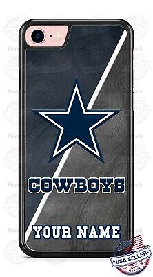 - Dallas Cowboys NFL Football with Name Phone Case Cover For iPhone Samsung LG