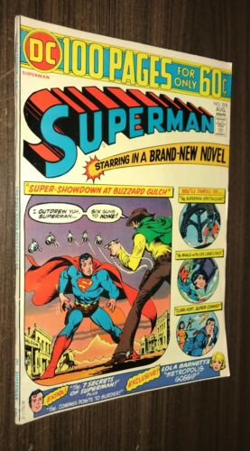 SUPERMAN #278 -- Aug 1974 -- 100 Page Giant -- VF+ Or Better