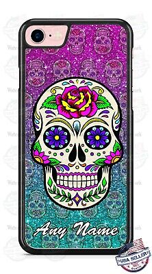Halloween Calavera Sugar Skull Phone Case Cover For iPhone Samsung LG Google