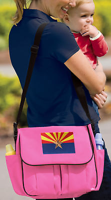 Arizona Flag Diaper Bag BEST Shower Gifts for Daddy or Mommy New Dad