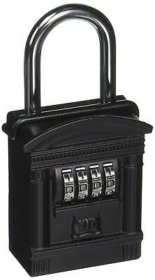 New Lockstate Keydock Shackle Mount Spare Key Combination Lock Box Dial Realtor