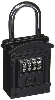 New Lockstate Keydock Shackle Mount Spare Key Combination Lock Box Dial Realtor