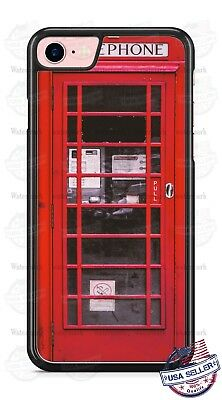 Red Samsung Telephone - Red British London Telephone Booth Phone Case fits iPhone Samsung LG Google etc