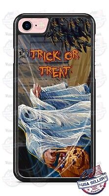 Halloween Trick or Treat Ghost Costume Phone Case for iPhone Samsung Google etc