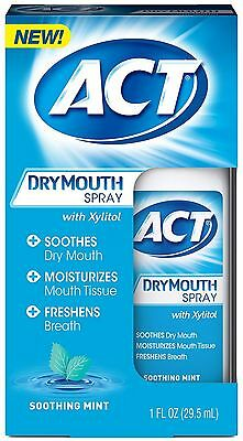 Act Dry Mouth Spray  Soothing Mint 1 Oz