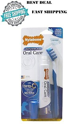 Toothbrush Toothpaste Finger Brush Oral Care Dental Hygiene Kit Easy Cat Dog New