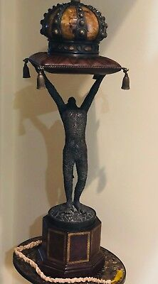 Gorgeous Vintage one-of-the-kind Maitland-Smith Royal Monkey Lamp.