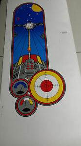 BATTLEZONE full sized upright side art screen printed from original Atari films!