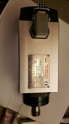 Square 3kw Er20 220v Air Cooled Spindle Motor 18000rpm Cnc Router Milling 300hz