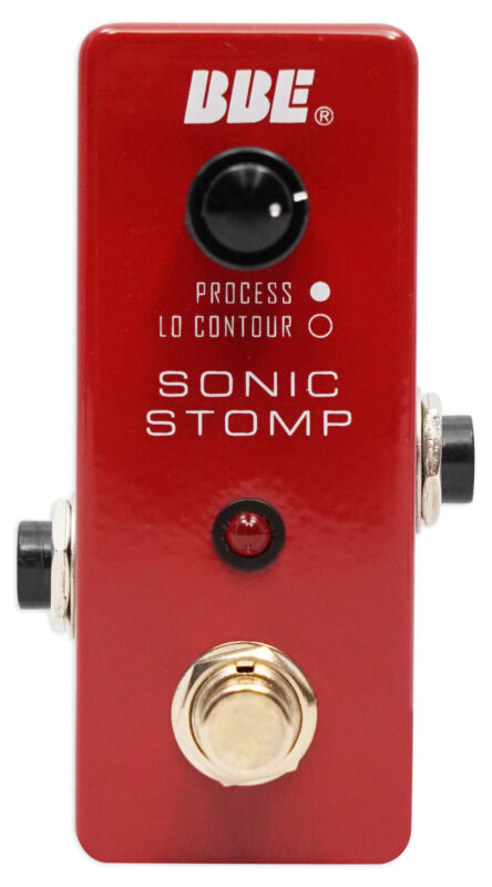Brand BBE MS-92 Mini Sonic Stomp Sonic Maximizer Stomp Pedal Lo Contour