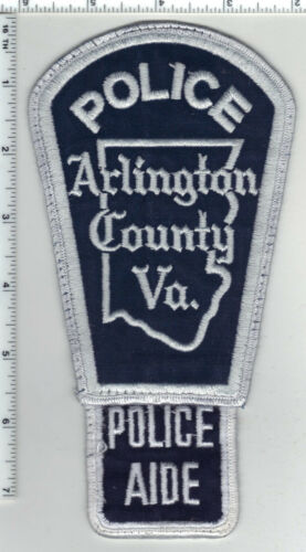 Arlington County Police Aide (Virginia) 1st Issue Uniform Take-Off Patch