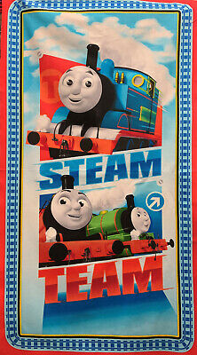 """Thomas the Train Steam Team Quilting & Sewing Fabric 23"""" Panel #1085"""