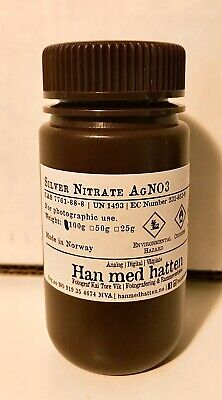 Silver Nitrate Agno3 For Photographic Purposes High Purity