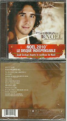 CD - JOSH GROBAN : CHANTE NOEL / BEST OF CHRISTMAS / NEUF EMBALLE - NEW &