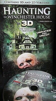 Haunting Of Winchester House New  Dvd 3D   2D Version  Uncut Thriller Widescreen