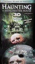 Haunting of Winchester House NEW! DVD,3D & 2D Version, UNCUT,Thriller,Widescreen