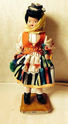 Vintage Foreign Travel Doll- Canary Islands- 1962