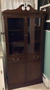 Solid wood hutch / cabinet