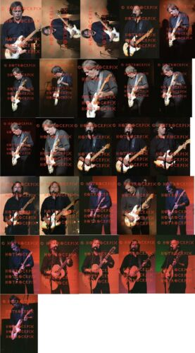 26 DIFFERENT 4X6 PHOTOS OF OF DAVID GILMOUR OF PINK FLOYD  IN CONCERT