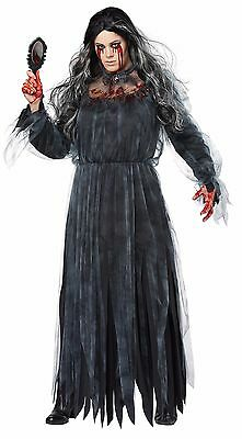 Bloody Mary Horror Ghost Legend Plus Size - Plus Size Womens Ghost Costume