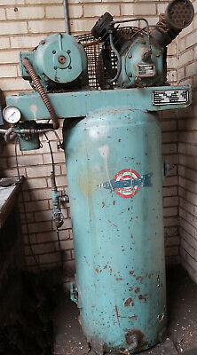 175L vintage air compressor and receiver in full working order