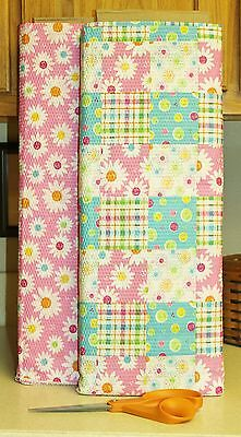 Daisy Dots Seersucker Flowers Patchwork  bty  PRICE REDUCED - Dot Flowers