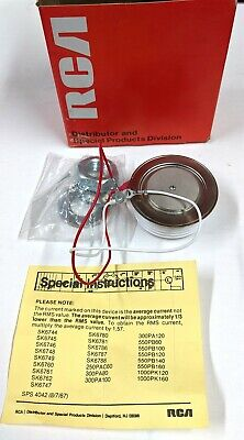 Rca Sk6786 Scr Thyristor 600 Volt 550 Amps Nos In Original Box Packaging