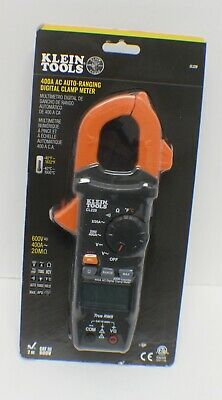 Klein Tools Cl220 400 Amp Ac Auto-ranging Digital Clamp Meter - New
