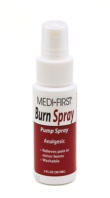 Medi-First Burn Spray, Liquid, 2 oz, Spray Bottle #22502 Burn Spray 2 Oz Bottle