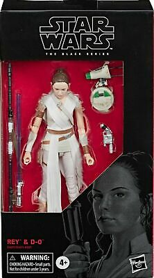 Star Wars The Black Series Rey & D-0 6-Inch Figure - New In Stock