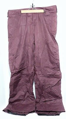 Tall Womens Ski Pants (Burton Stow Cargo Pant Maroon Ski Snowboard Performance Pants Womens XL Tall VGC)