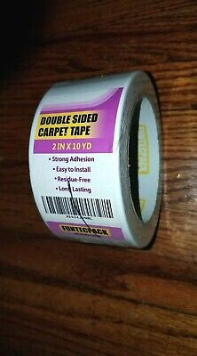 New Funtecpack Double Sided Heavy Carpet Tape 2-inch X 10 Yards