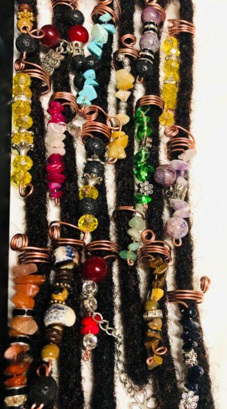 17 Piece Handmade Hair jewelry Accessories