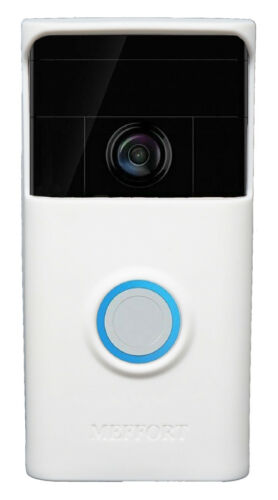 Silicone Case Cover Compatible for Ring Video Doorbell (1st Generation) - White