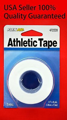 - Flex Aid Athletic Sports Muscle Care  Physio Therapeutic Tape ,1 Roll 1.5 x8 yds