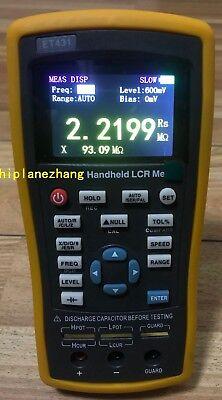 Handheld Lcr Meter Lcrzxdqesrdcr 1001201k10khz 2.8tftlcd Bias Usb
